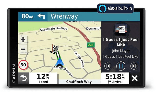 Garmin Drivesmart 65 with Alexa