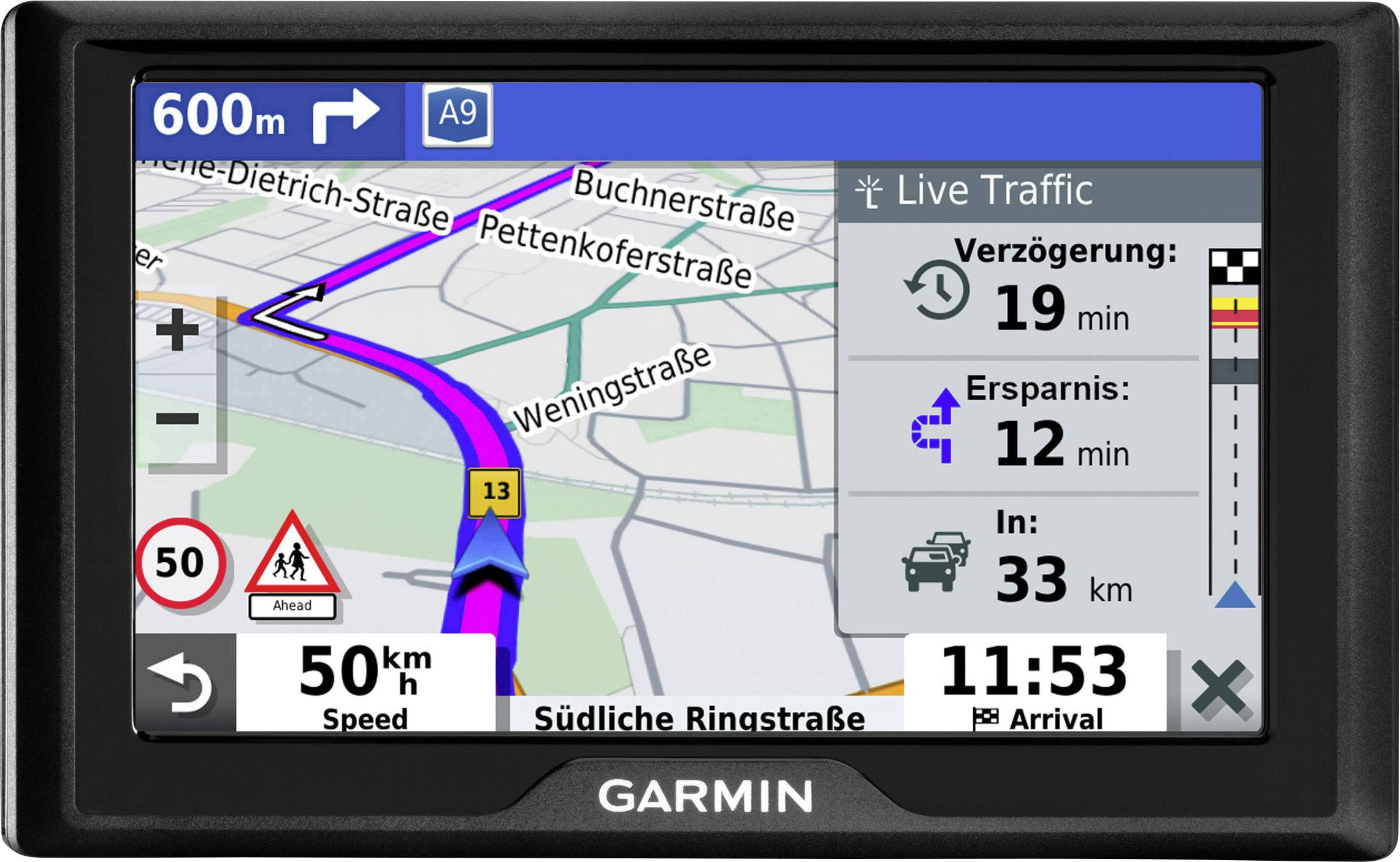 Garmin Drive 52 MT-S (UK Maps)