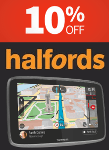 Halfords 10% Off
