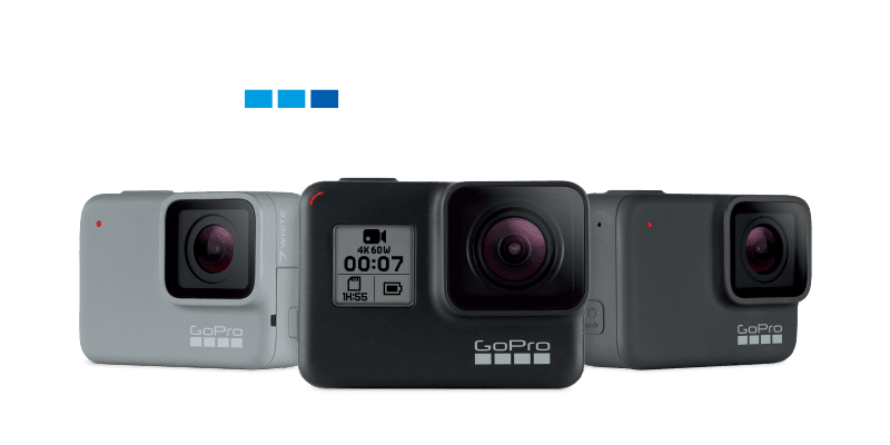 GoPro Hero 7 White Silver Black