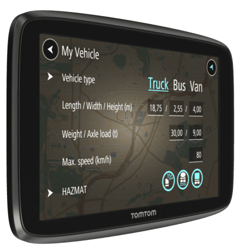 TomTom Professional Compared