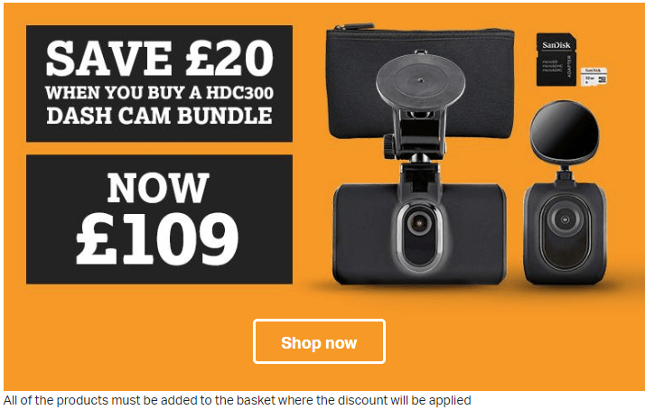 Halfords Offer