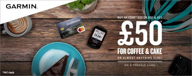 £50 Garmin Coffee & Cake